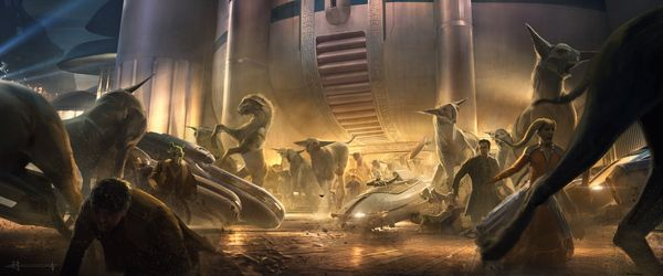<strong><em>Star Wars: The Last Jedi</em></strong> Fathiers Concept Art