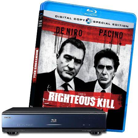 Righteous Kill Blu-ray Contest