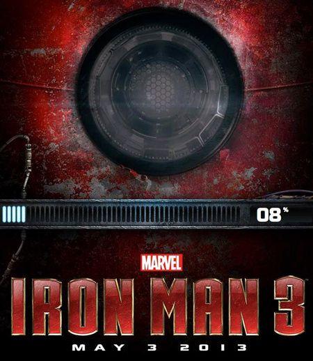 <strong><em>Iron Man 3</em></strong> arc reactor