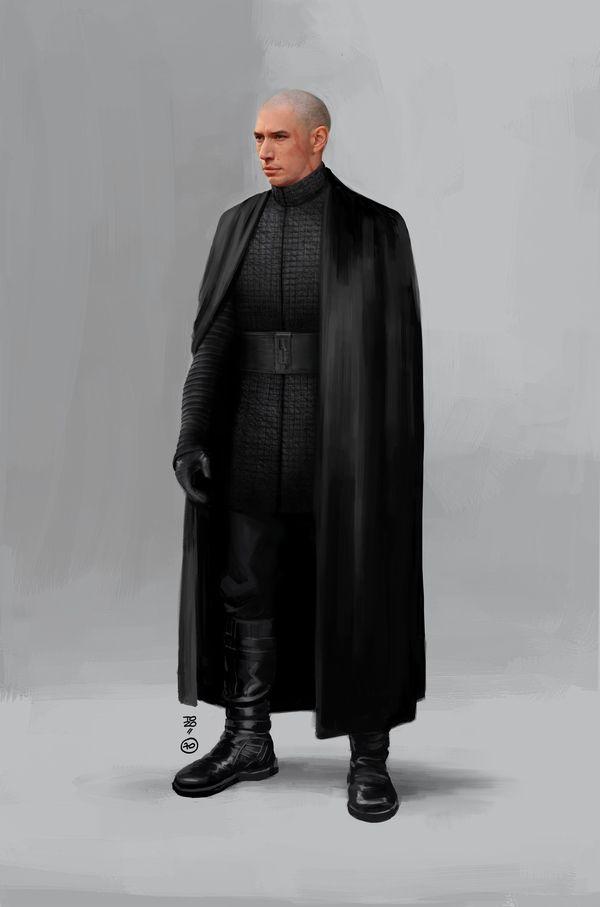 <strong><em>Star Wars: The Last Jedi</em></strong> Kylo Ren Concept Art