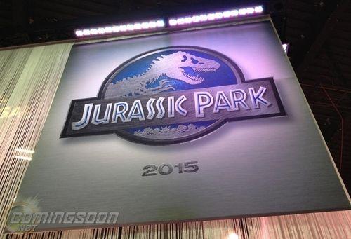 Jurassic Park IV Licensing Expo banner