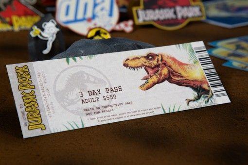 <strong><em>Jurassic Park</em></strong> 3-Day Pass