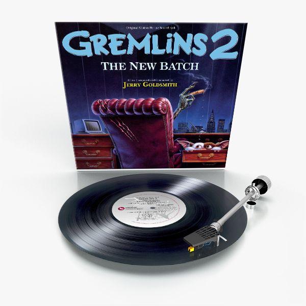 <strong><em>Gremlins 2: The New Batch</em></strong> vinyl release art