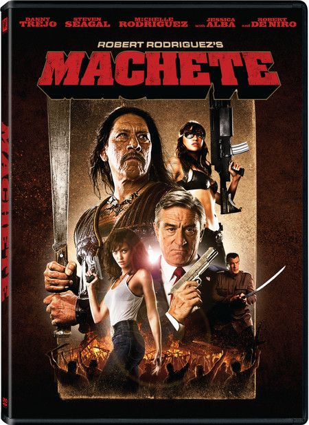 <strong><em>Machete</em></strong> DVD artwork