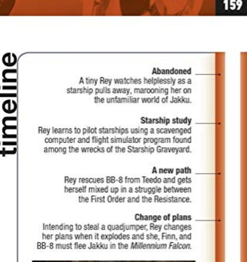 Rise of Skywalker Rey Timeline