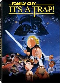 <strong><em>Family Guy</em></strong>: It's a Trap DVD artwork