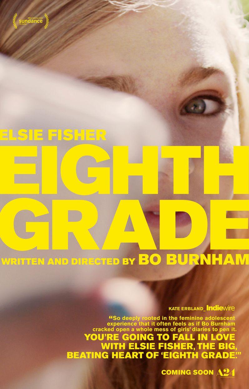 <strong><em>Eighth Grade</em></strong> movie poster