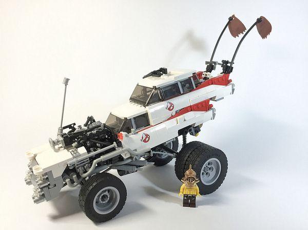 Mad Max Fury Road Lego Vehicle 1