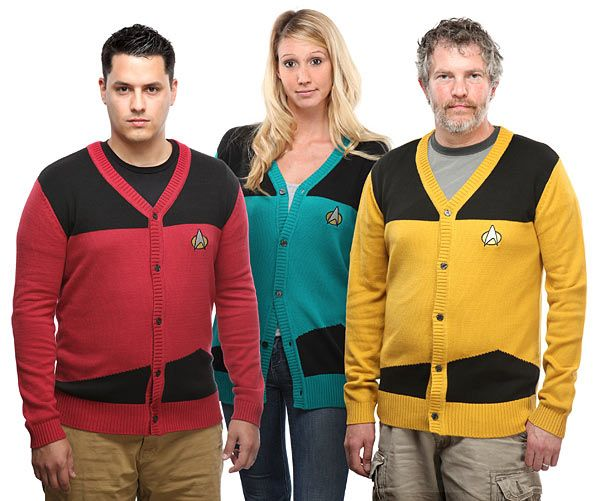 Star Trek: The Next Generation Cardigans