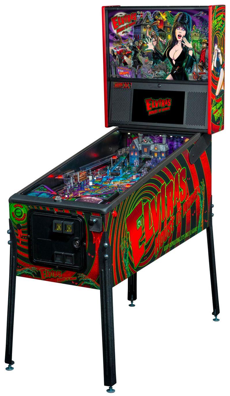 Elvira's House of Horrors Pinball machine by Stern #7