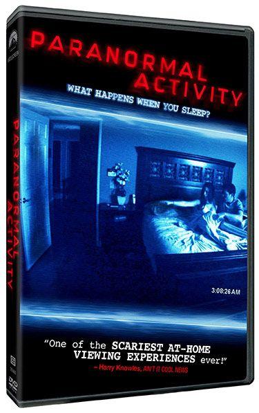 <strong><em>Paranormal Activity</em></strong> DVD Art