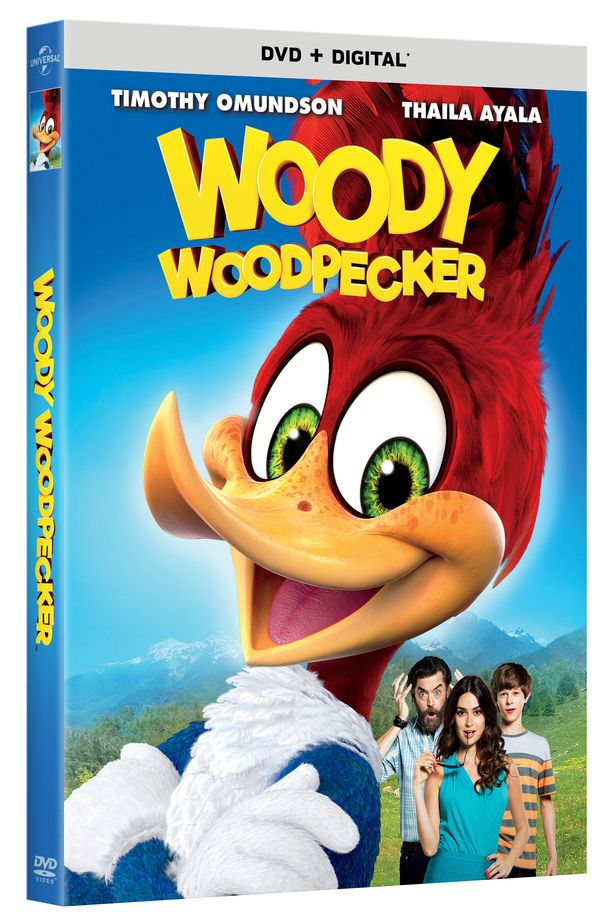 <strong><em>Woody Woodpecker</em></strong> DVD Cover