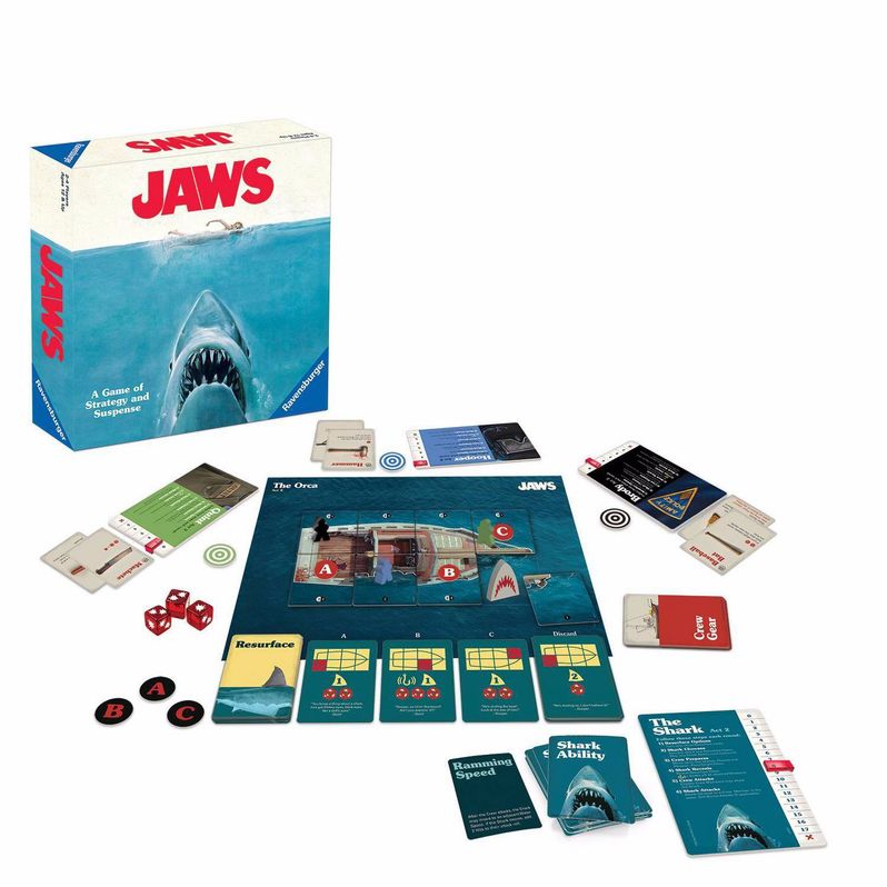 <strong><em>Jaws</em></strong> Board Game Box Act 2