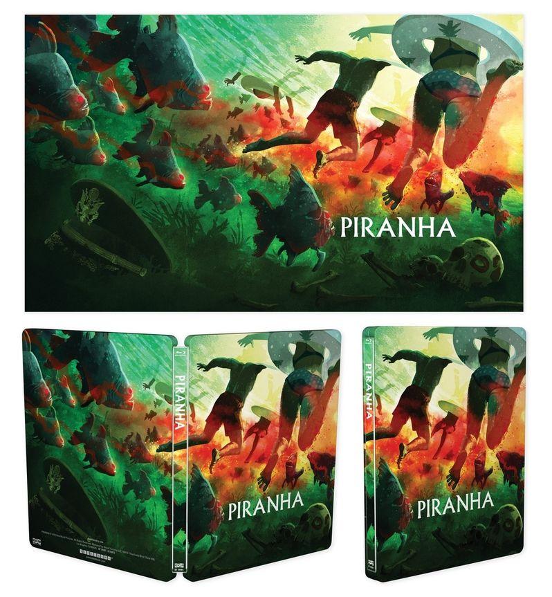 Joe Dante's Piranha Is Getting a Bloody Steelbook Release from