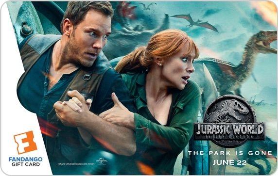 Jurassic World 2 Gift Card #1