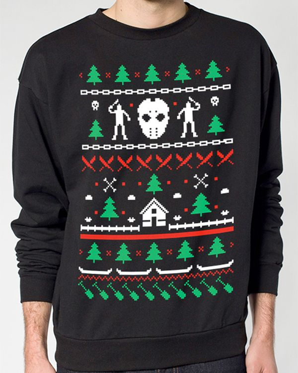 Friday the 13th Christmas Sweater