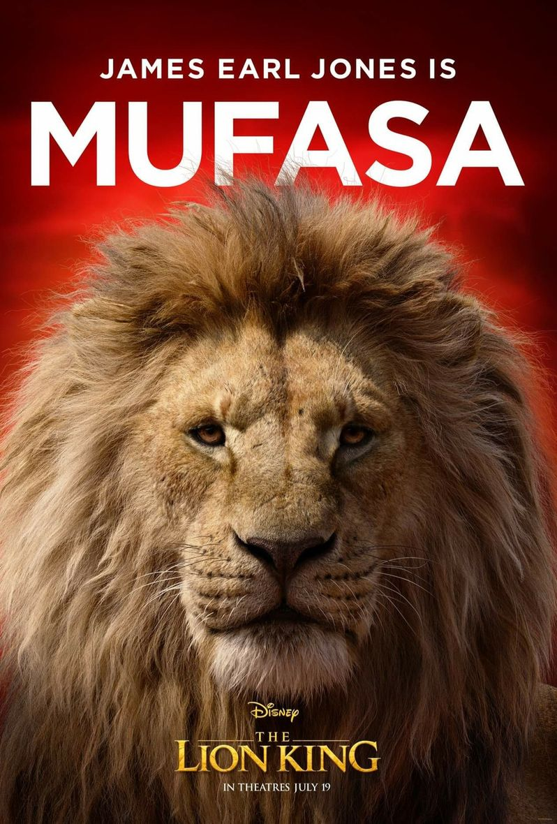 <strong><em>The Lion King</em></strong> Poster Mufasa