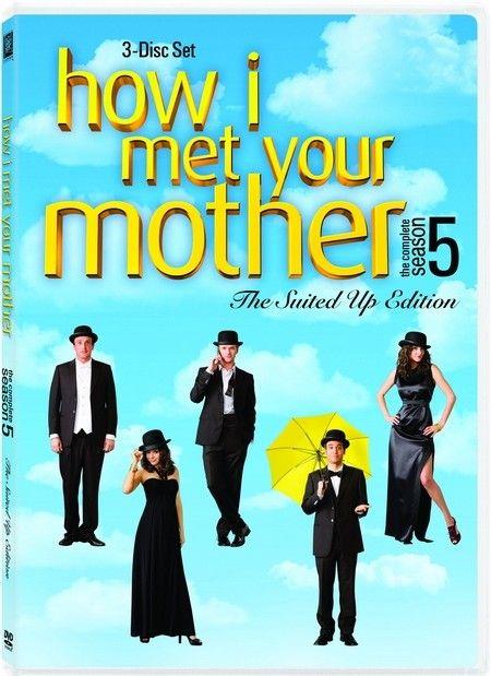 <strong><em>How I Met Your Mother</em></strong>: The Complete Season 5 DVD artwork
