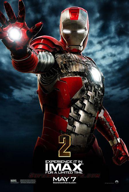 <strong><em>Iron Man 2</em></strong> IMAX Poster