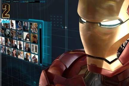 Iron Man 2 Website #3