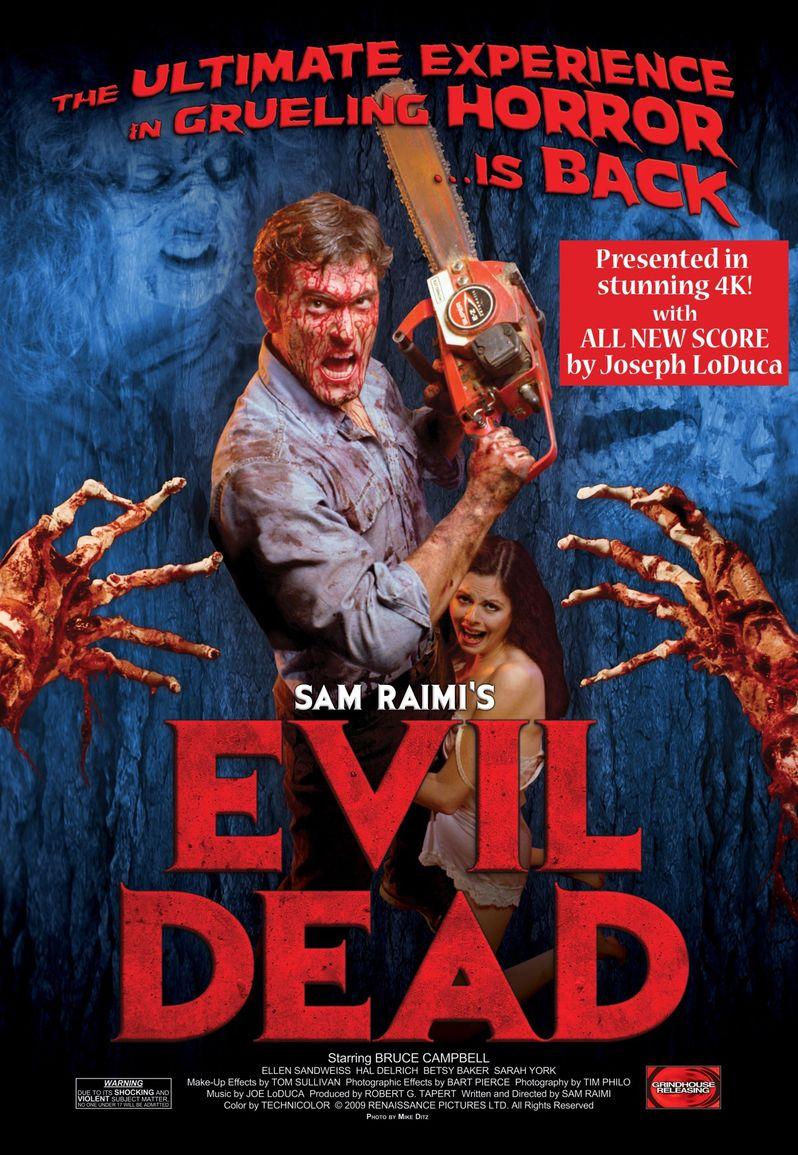 Restoration Poster Evil Dead 4K