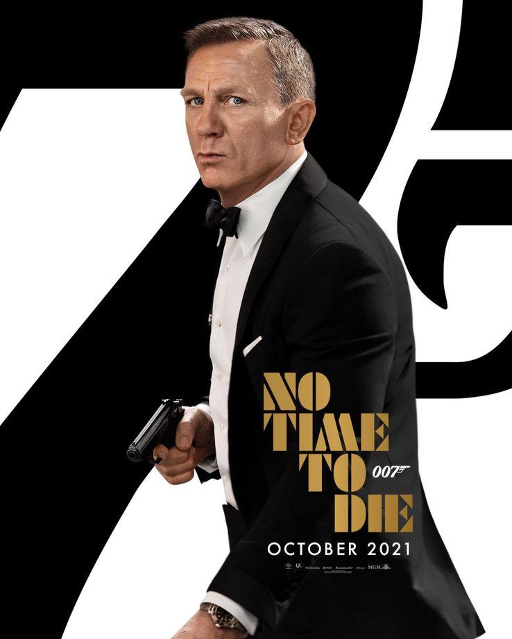 Nova data de lançamento do No Time to Die atrasa oficialmente James Bond até outubro de 2021 1