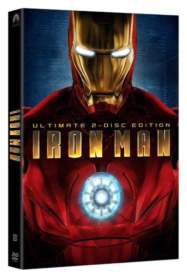 <strong><em>Iron Man</em></strong> DVD