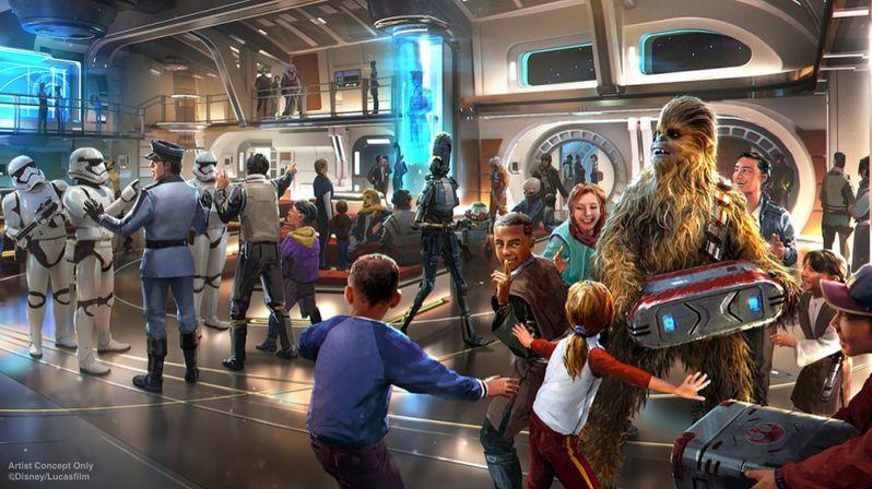 Disney Parks Star Wars Starcruiser Resort Disney World #4