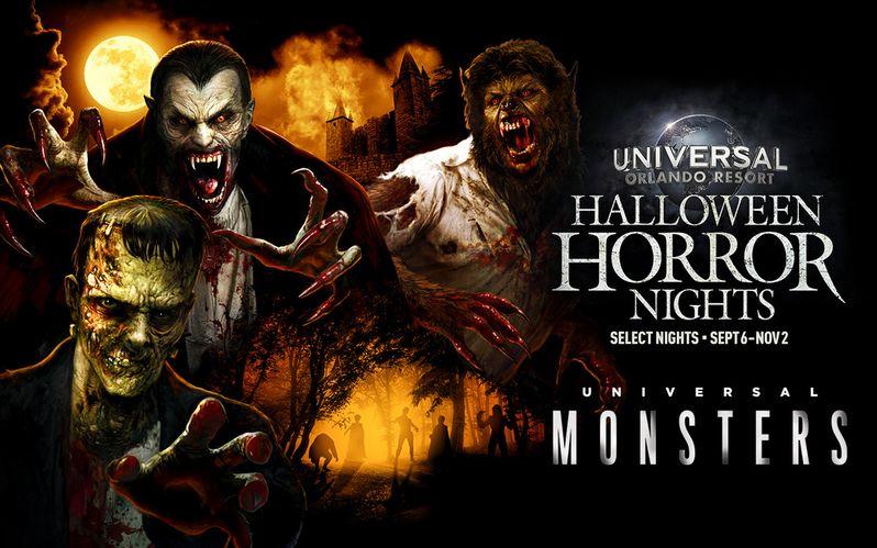 Universal Monsters Maze Halloween Horror Nights 2019
