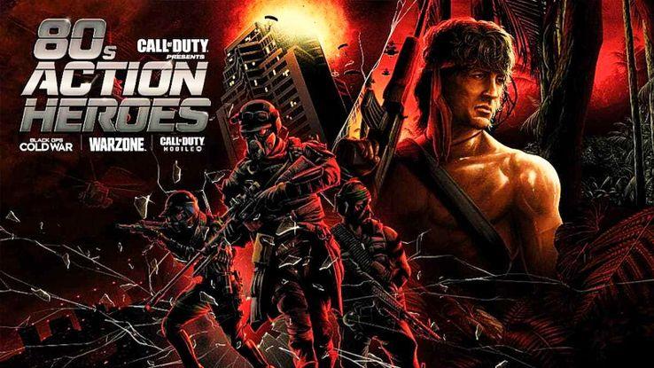 Os heróis de ação dos anos 80 voltam em Call of Duty: Warzone e Black Ops: Cold War 1