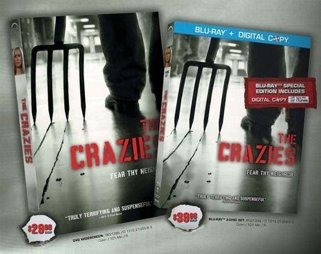 <strong><em>The Crazies</em></strong> DVD/BD