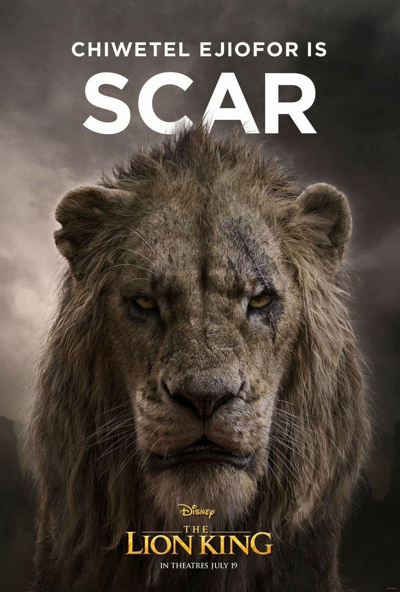 <strong><em>The Lion King</em></strong> Poster Scar