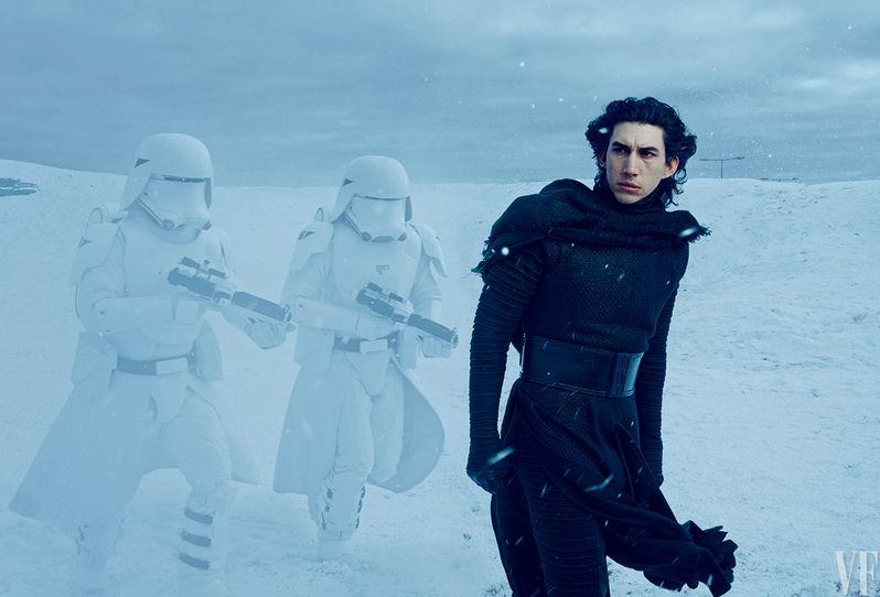 Adam Driver Star Wars The Force Awakens