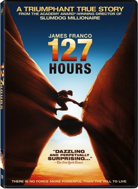 <strong><em>127 Hours</em></strong> DVD artwork