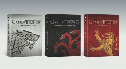 Game Of Thrones The Complete Third Season DVD Best Buy Artwork