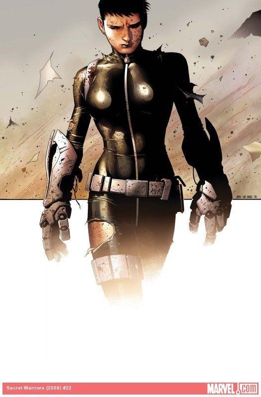 Agents of S.H.E.I.L.D. Daisy Johnson Comic Book Photo