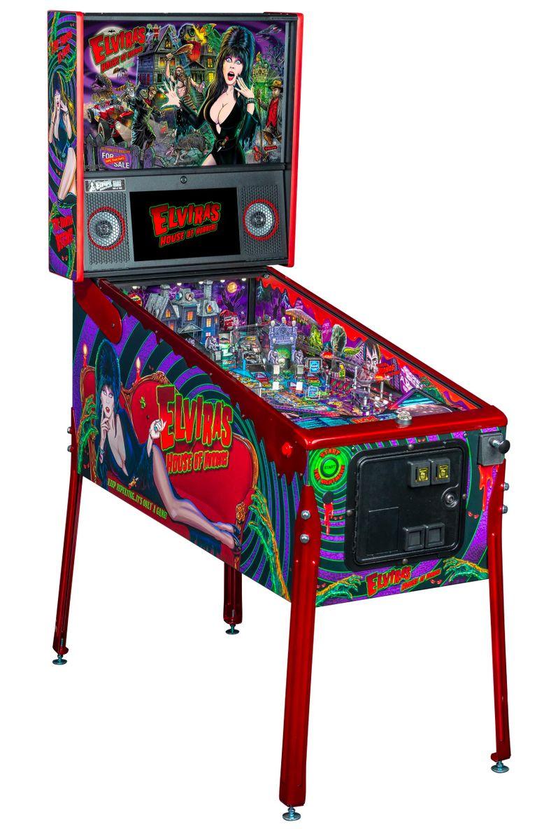 Elvira's House of Horrors Pinball machine by Stern #17