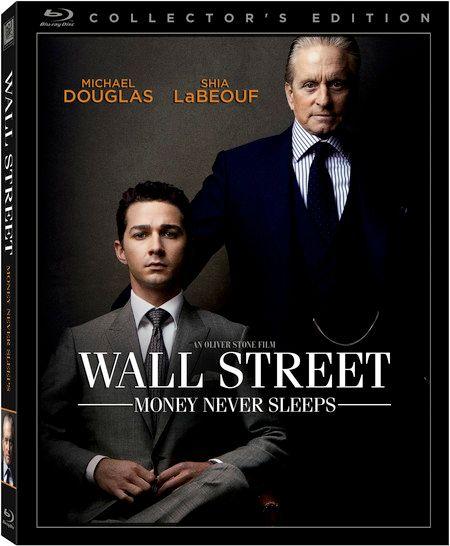 <strong><em>Wall Street: Money Never Sleeps</em></strong> Blu-ray artwork