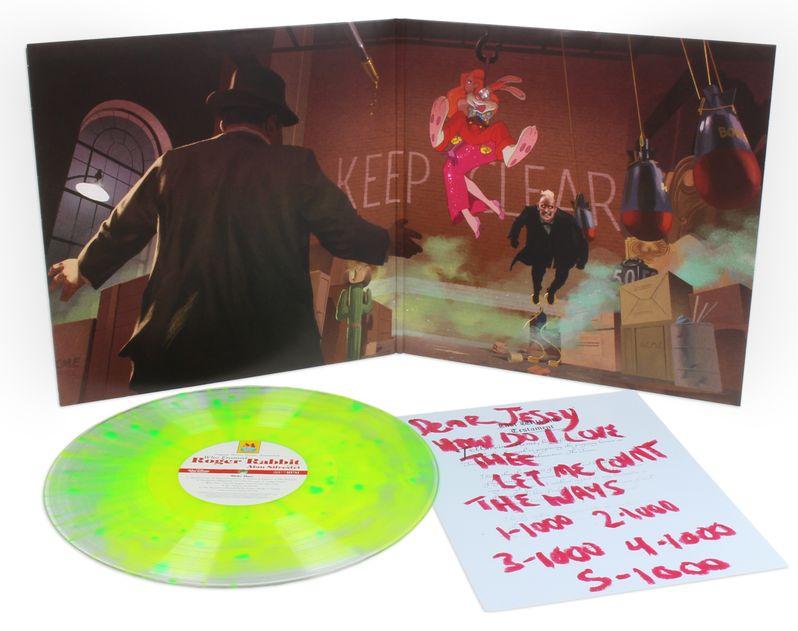 Who Framed Roger Rabbit Vinyl Mondo Exclusive