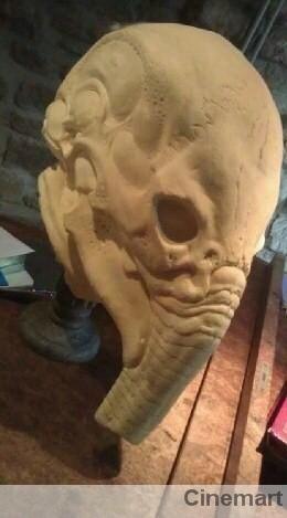 <strong><em>Prometheus</em></strong> Monster Mask Design #1