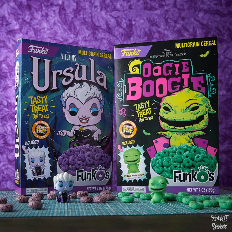 Disney Villains Funko Cereal