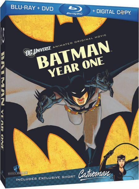 <strong><em>Batman: Year One</em></strong> Blu-ray artwork