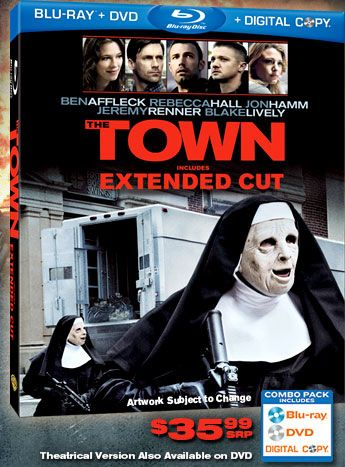 <strong><em>The Town</em></strong> Blu-ray artwork