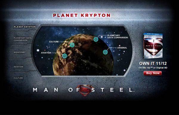 <strong><em>Man of Steel</em></strong> Krypton Viral Website Photo 2