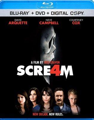 <strong><em>Scream 4</em></strong> Blu-ray artwork