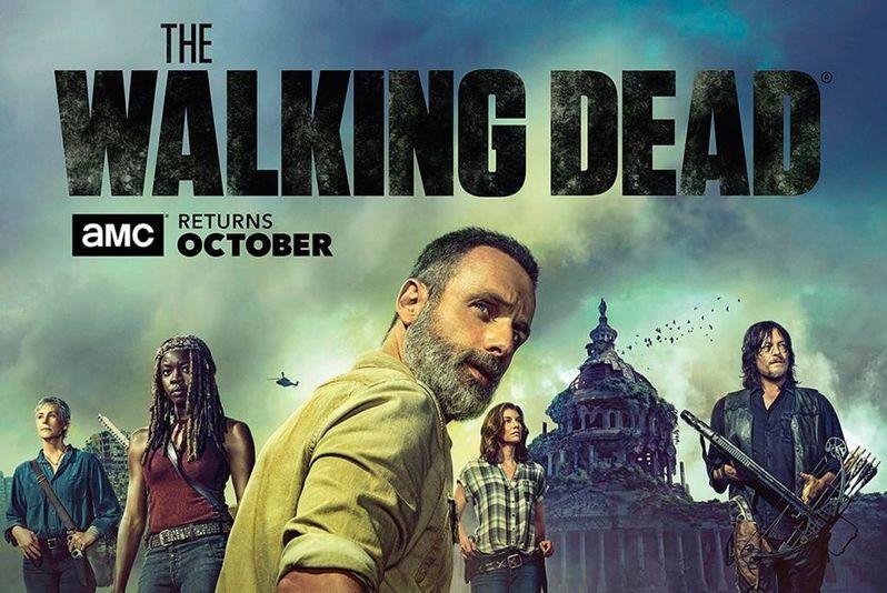 <strong><em>The Walking Dead</em></strong> Season 9 poster