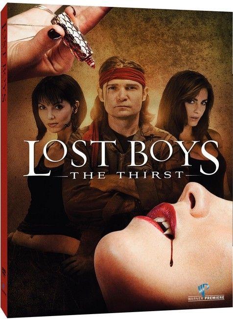 <strong><em>Lost Boys: The Thirst</em></strong> DVD artwork