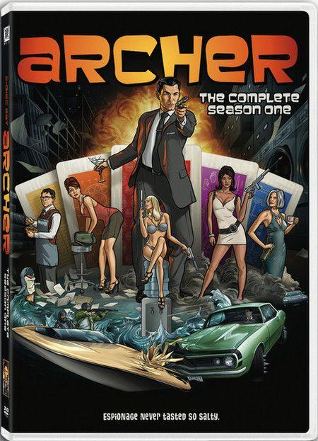 <strong><em>Archer</em></strong> Season 1 DVD artwork