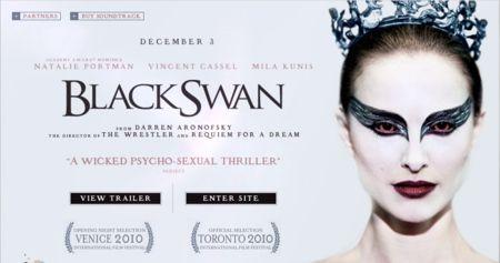 <strong><em>Black Swan</em></strong> website image