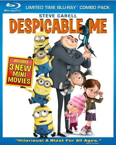 <strong><em>Despicable Me</em></strong> Blu-ray artwork